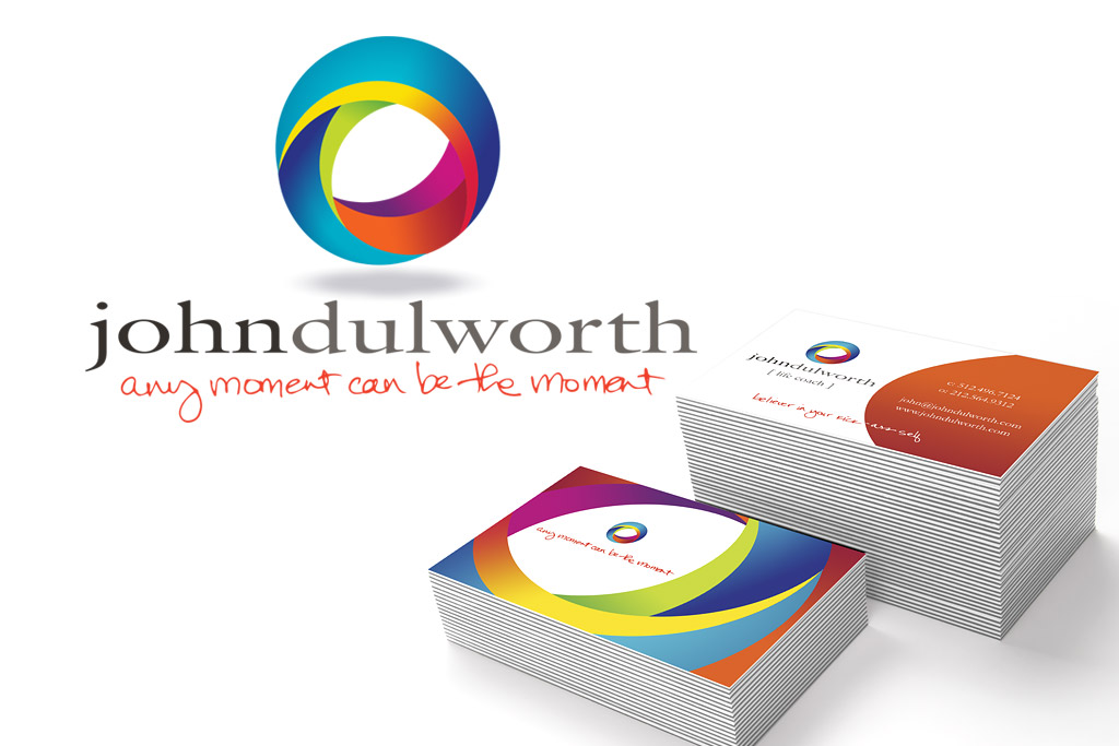 John Dulworth Logo and Business Card Designs