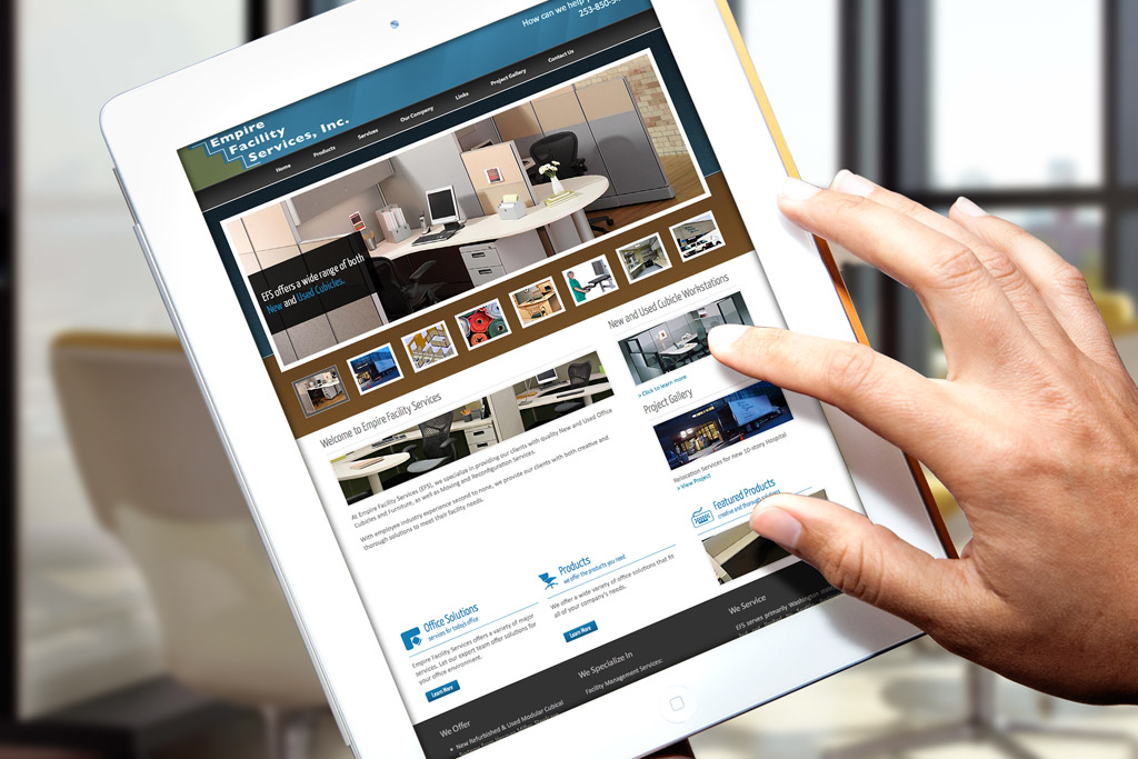 Empire Facility Services Website Design